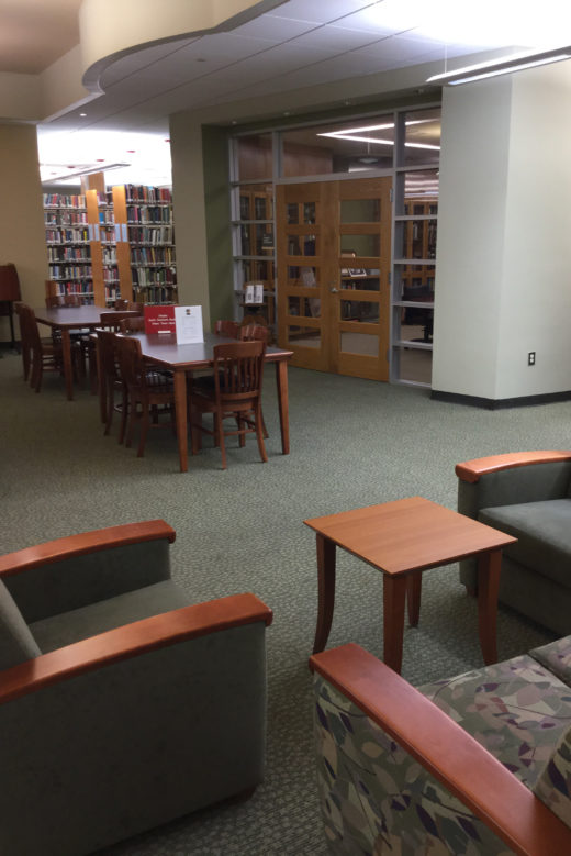 The Reading Room at Lane Library