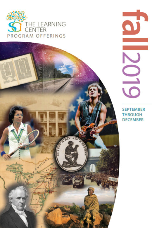 Cover of The Learning Center's Fall Catalog