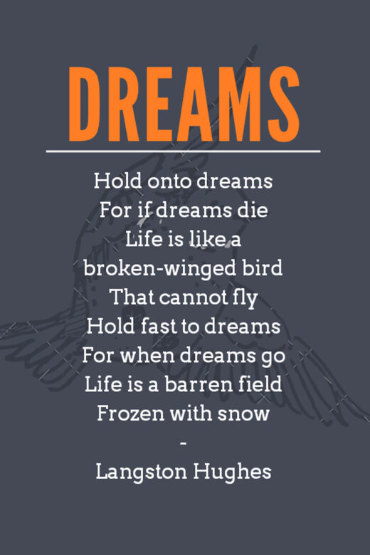 "Langston Hughes' ""Dreams"""